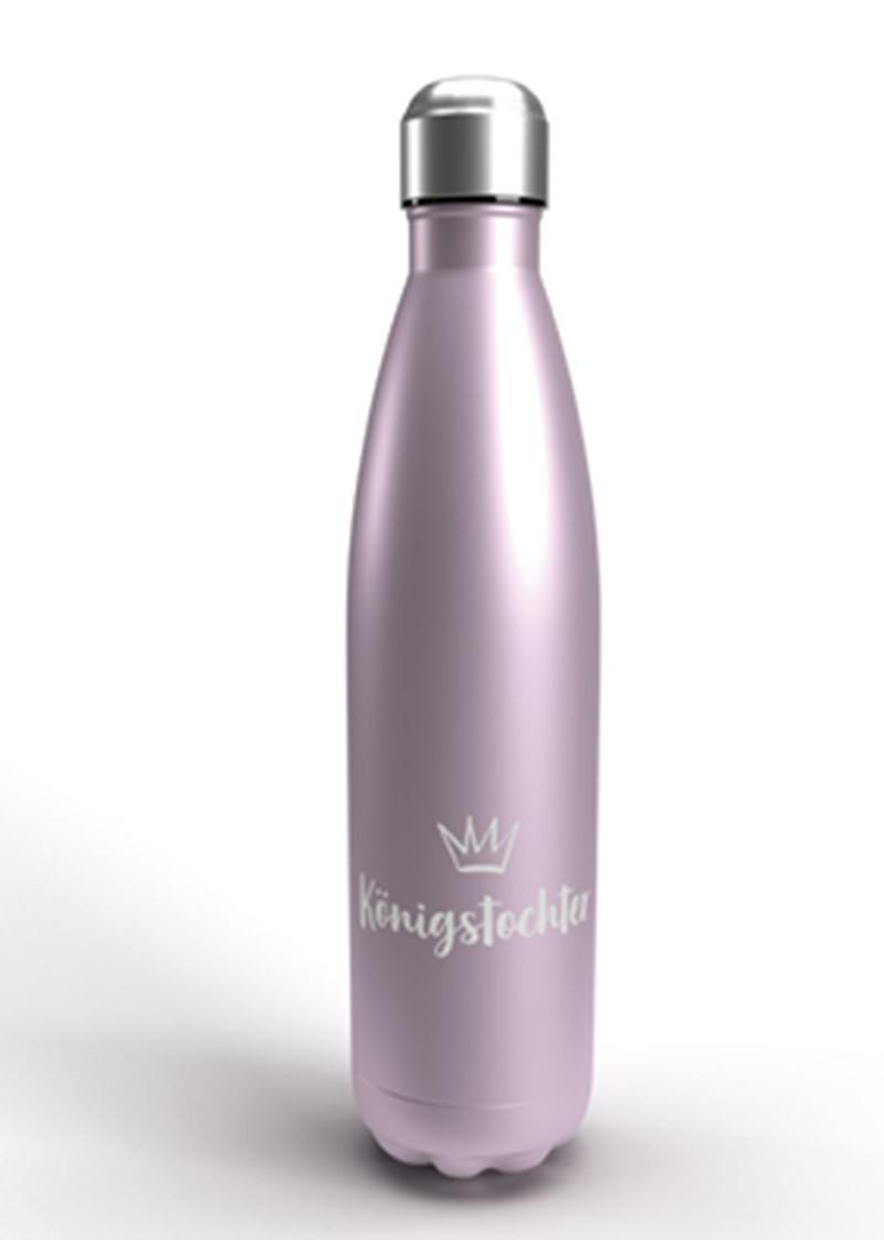 """Isolierflasche """"Königstochter"""" - Flieder-metallic"""