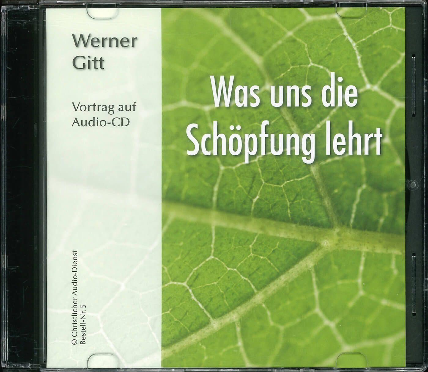 Was uns die Schöpfung lehrt  - Audio CD