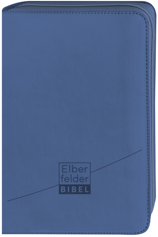 Elberfelder Bibel - Standardausgabe, ital. Kunstleder mit Reißverschluss