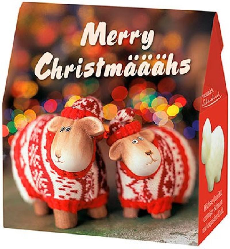 """Schafmilchseife Schaf """"Merry Christmääähs"""""""