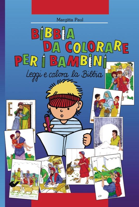 Kinder-Mal-Bibel - italienisch