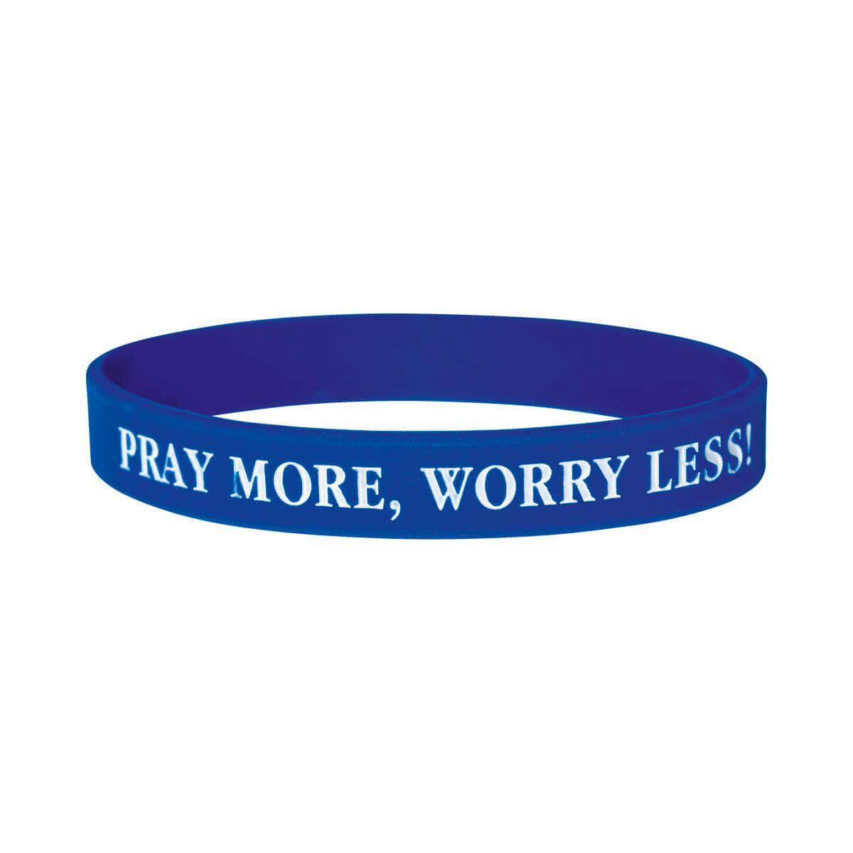 "Armband ""Pray more"""