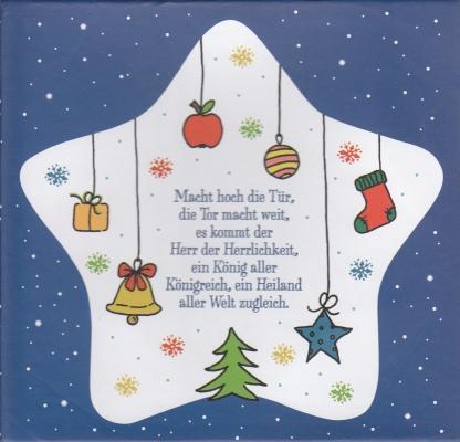 Weihnachtsteller - Stern