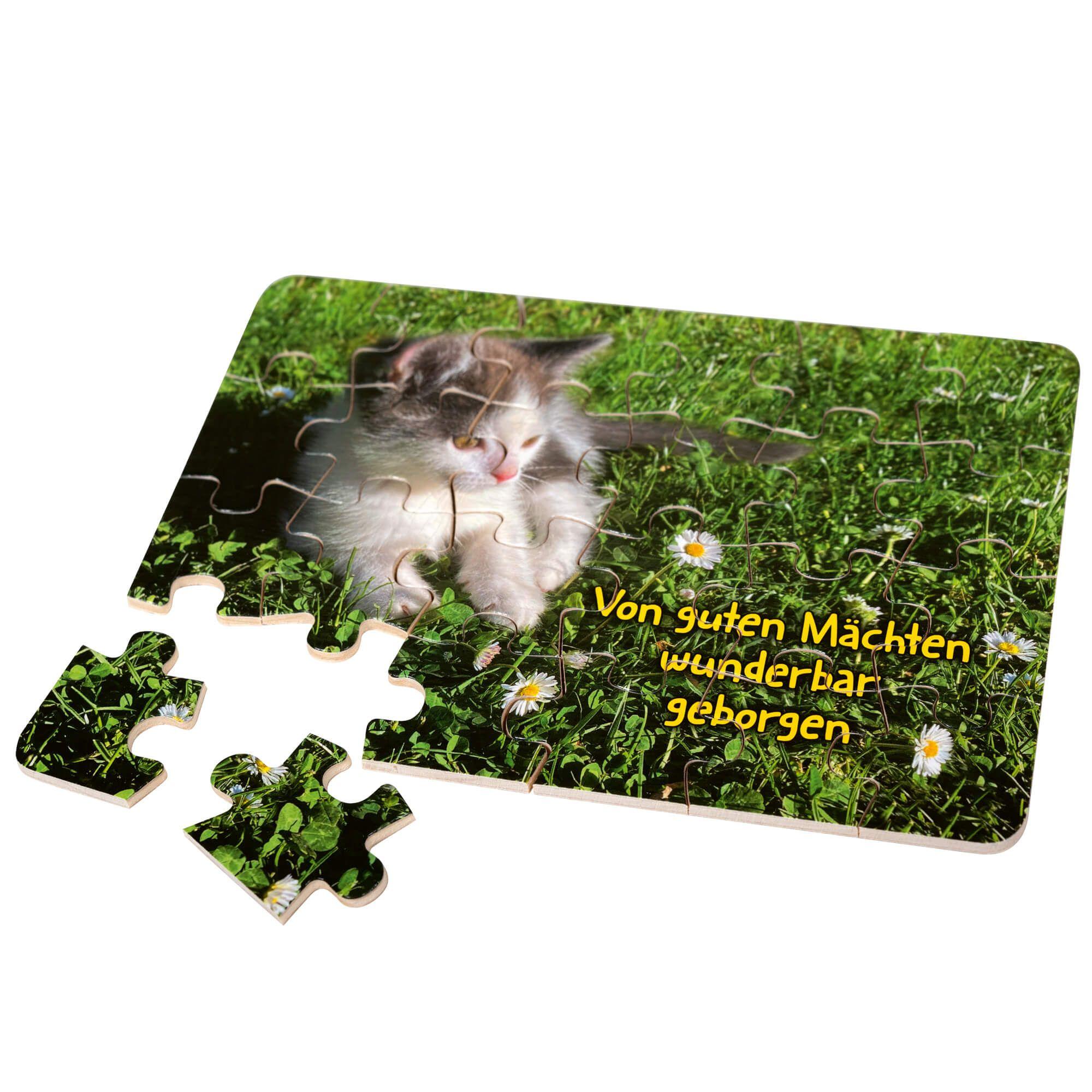 """Holz-Puzzle """"Katzenbaby"""""""