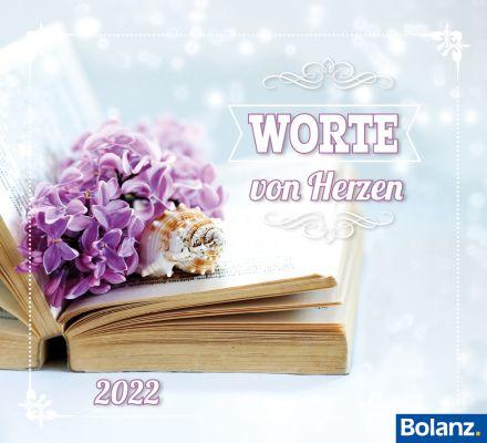 Worte von Herzen 2022 - Minikalender