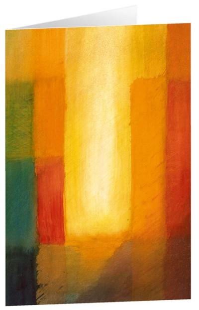 "Kunstkarten ""Lichtschimmer"" 5 Stk."